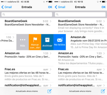 iOS 9 beta 3 Mail