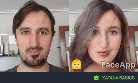 Así puedes utilizar FaceApp para cambiar tu cara y ver cómo serías con otra edad o sexo