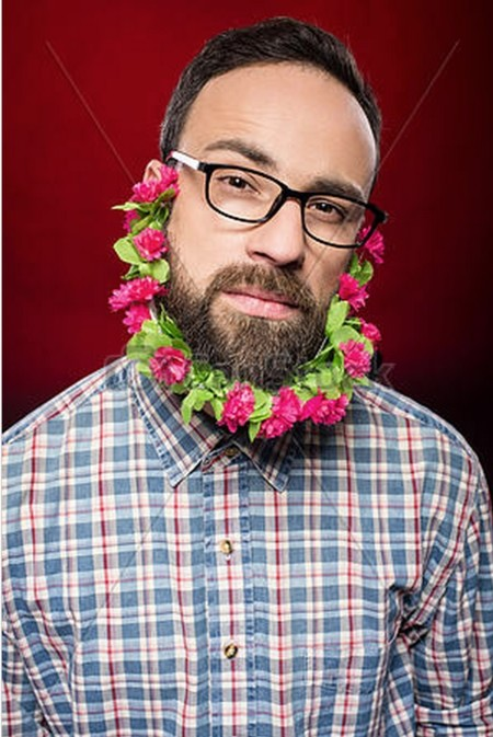 Hipster de palo
