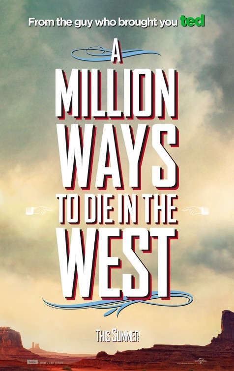 Foto de 'A Million Ways to Die in the West', carteles (1/8)