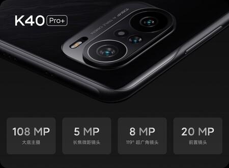 Redmi K40 Pro Plus Oficial Tres Camaras 108 Megapixeles