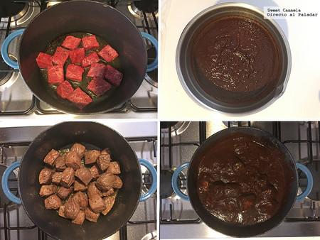 Carne Salsa Chile Pasilla 2