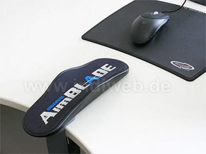 AimBLADE, soporte para el brazo