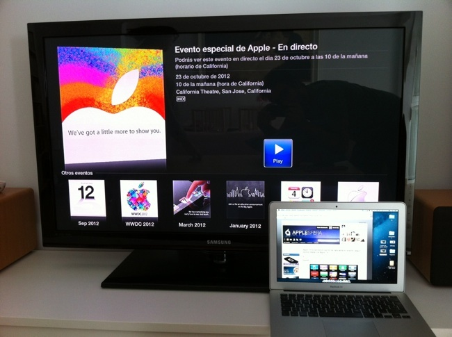 evento apple directo tv