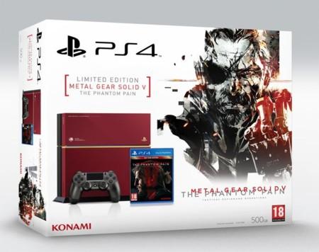 Al final sí que llegará a España la PS4 de edición limitada sobre Metal Gear Solid V