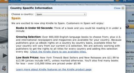 amazon españa tienda comparativa precios kindle ebook lector