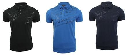 Renueva armario con estos  polos Smith and Jones en negro, azul y azul marino por sólo 11,29 euros en Amazon