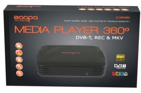 Zaapa vuelve a la carga con un centro multimedia con TDT asequible