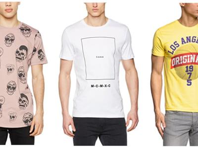 9 camisetas  Jack & Jones por menos de 10 euros en Amazon