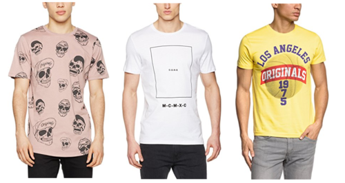 9 camisetas  Jack & Jones por menos de 10 euros en Amazon