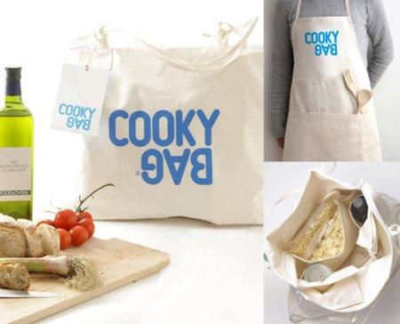Cooky Bag, una bolsa que se convierte en delantal