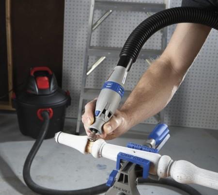 Dremel tiene la clave para hacer una herramienta rotatoria barata: usar una aspiradora