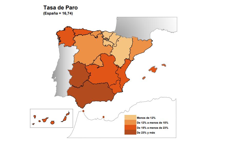 Por Qué A Andalucía Y Extremadura Tienen Tasas De Desempleo Tan Altas