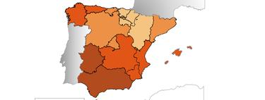 ¿Por qué a Andalucía y Extremadura tienen tasas de desempleo tan altas?