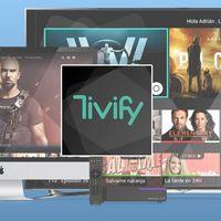 Tivify, una nueva plataforma de televisión con canales en directo, grabaciones y vídeo bajo demanda