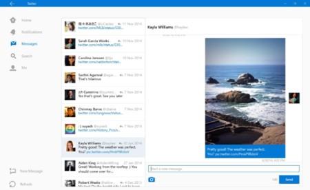 Estos son el diseño y funciones de la nueva app de Twitter para Windows 10