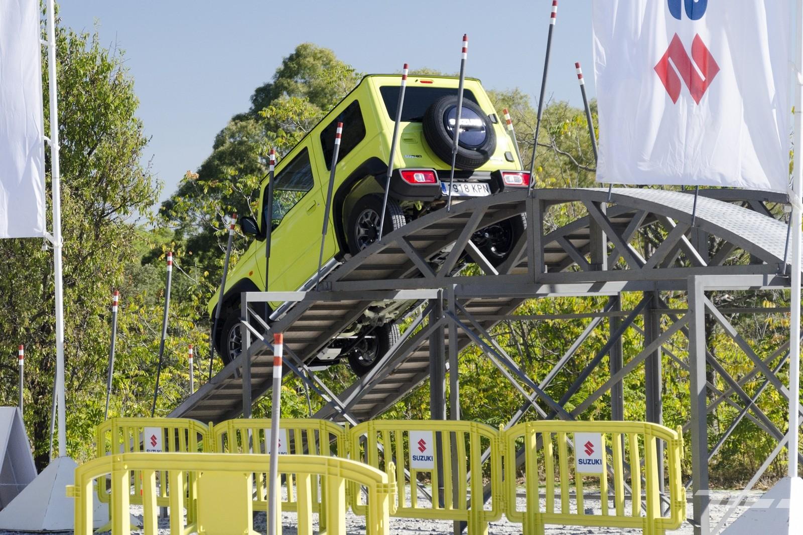 Foto de Suzuki Jimny 2019 prueba (48/57)