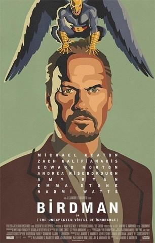 'Birdman', primer tráiler y cartel del superhéroe de Iñárritu