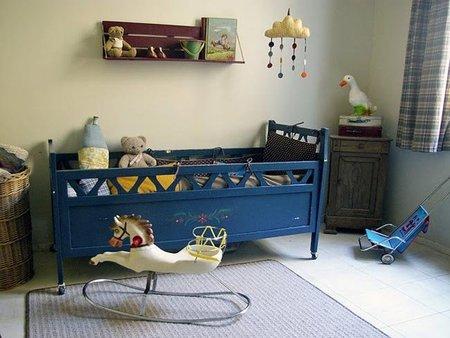 Habitaciones De Bebe De Estilo Retro Y Vintage - Habitacion-retro