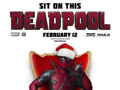 'Deadpool' sigue molando con este cartel navideño