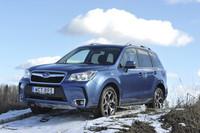 Subaru Forester diésel, qué bien te viene el cambio automático