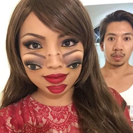 He aquí uno de los tutoriales de belleza más perturbadores con vistas a Halloween
