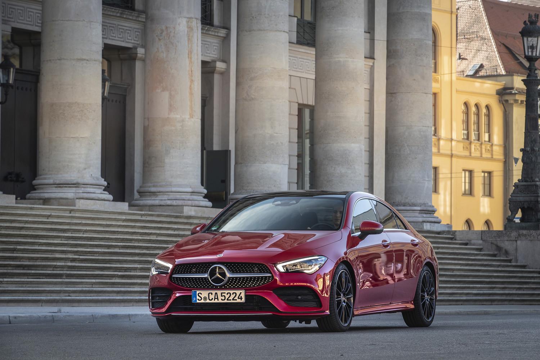 Foto de Mercedes-Benz CLA Coupé 2019, toma de contacto (18/248)
