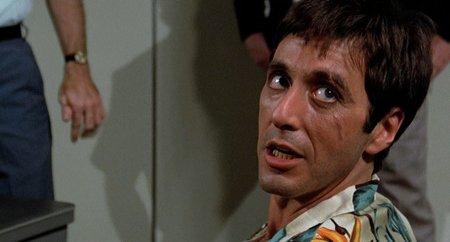 La presentación de Pacino en Scarface
