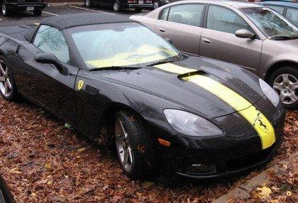 Ferrari Corvette