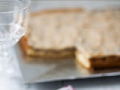 Pastel polaco de manzanas y merengue. Receta