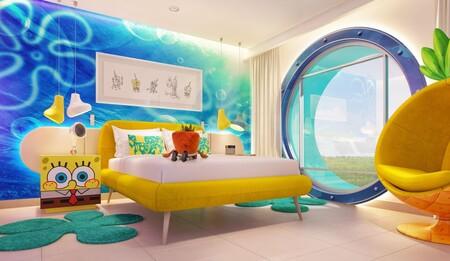 Hotel Nickelodeon Mexico Suite Bob Esponja