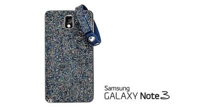Samsung y Swarovski anuncian una versión del Galaxy Note 3 con cristales incrustados