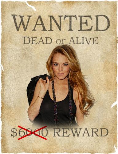 Se emite orden de arresto contra Lindsay Lohan