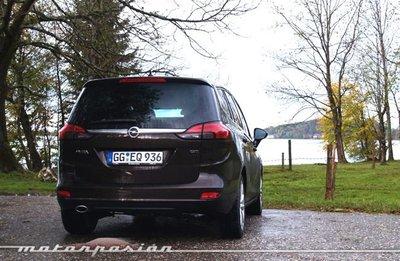Opel Zafira Tourer, presentación y prueba en Múnich (parte 2)