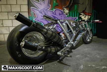 2Evil dragster, Scooter tuning de alto nivel