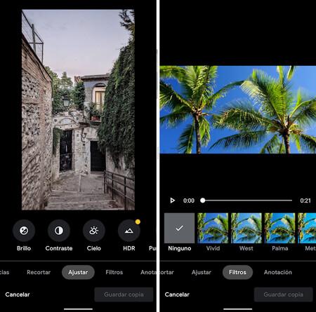 Google Fotos Editor