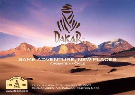 Los primeros detalles del nuevo Dakar 2009