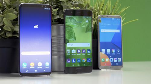LG G6, Samsung Galaxy S8 y Huawei P10: comparativa con Telcel, Movistar y AT&T de la gama alta de 2017 en México