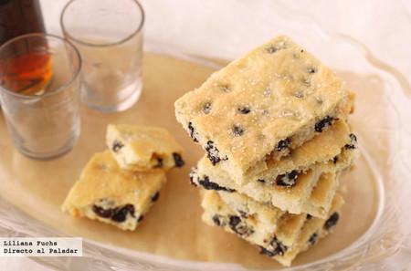 Receta de Garibaldi biscuits, las exquisitas pastas británicas rellenas de fruta