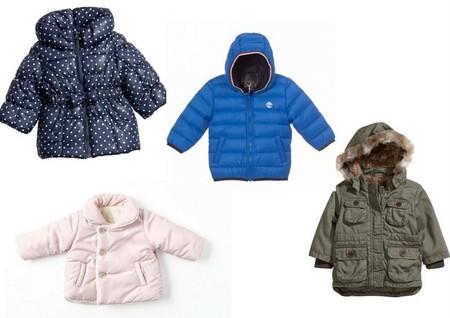abrigos casual bebés