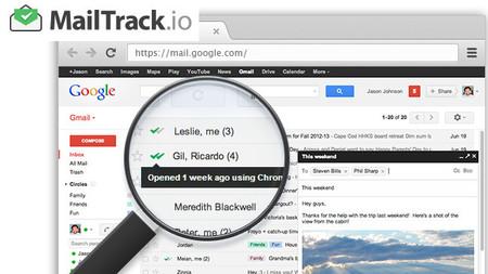MailTrack.io, gestión de entrega para tus mensajes desde Gmail