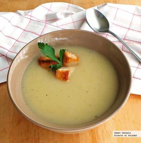 Sopa de coliflor. Receta ligera