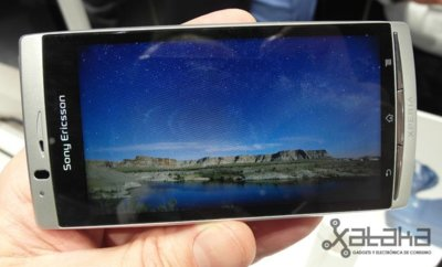 Sony Ericsson Xperia ARC – Prueba en CES 2011
