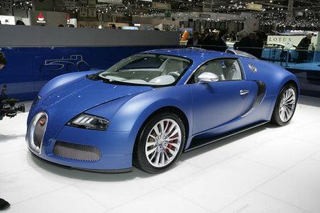 Bugatti Veyron Bleu Centenaire, otro Veyron más