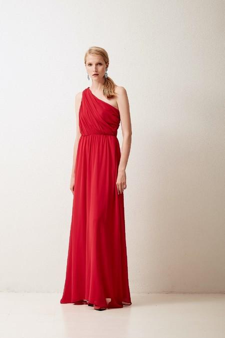 Vestido Hermes Rojo Coosy Fiesta