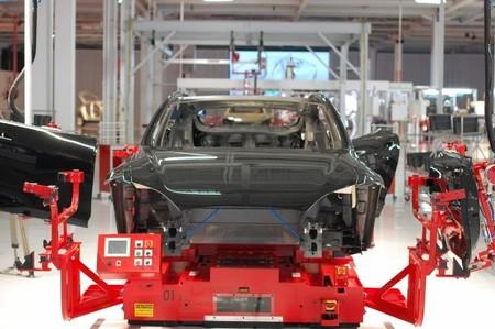 Tesla Model S fabricación