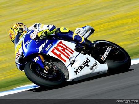 Valentino Rossi, victoria y liderazgo