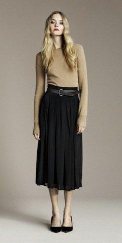 Zara Otoño 2010 falda