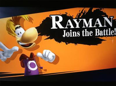 El video de Rayman como personaje jugable en Smash es Falso