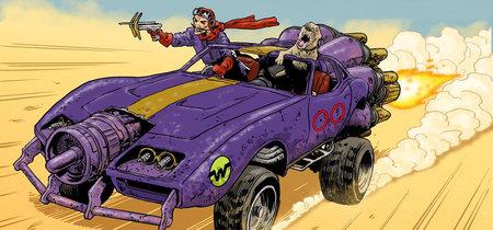Los legendarios autos locos, reinterpretados a lo Mad Max: Fury Road por el diseñador de la película